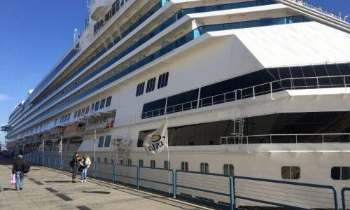 A bordo di Costa Fascinosa