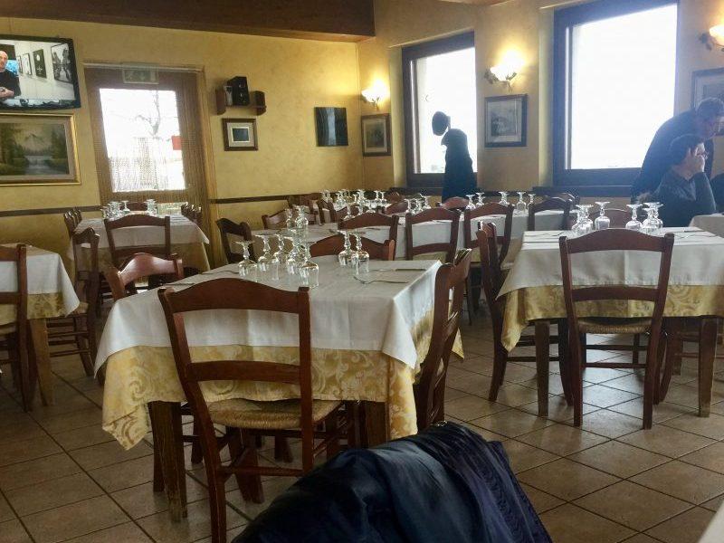Sala ristorante Sant'Agata