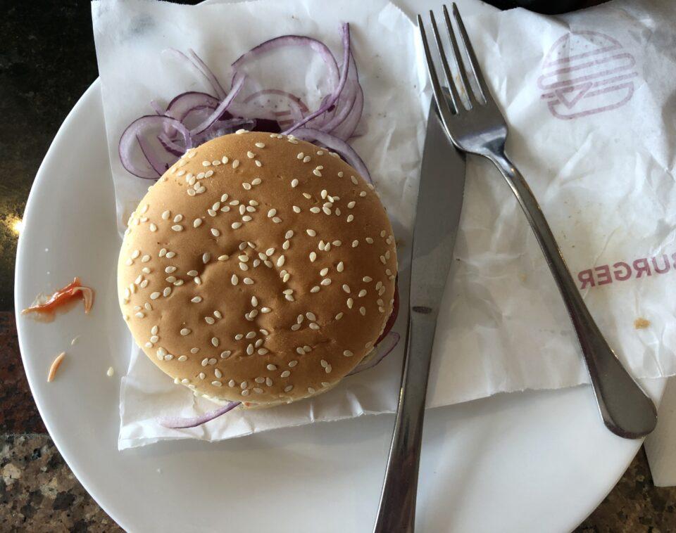 Buffet hamburger