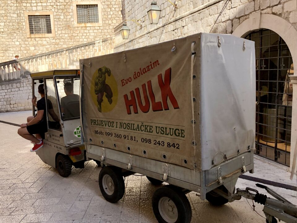 Camioncino a Dubrovnik