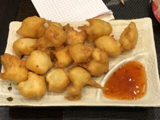 Pollo fritto Ristorante Giapponese