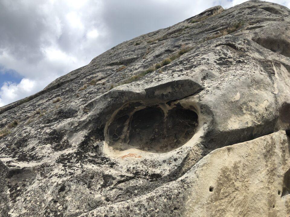 Foro nella pietra di Pietrapertosa