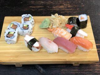 tagliere sushi misto