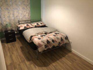 Camera da letto appartamento Milton Keynes