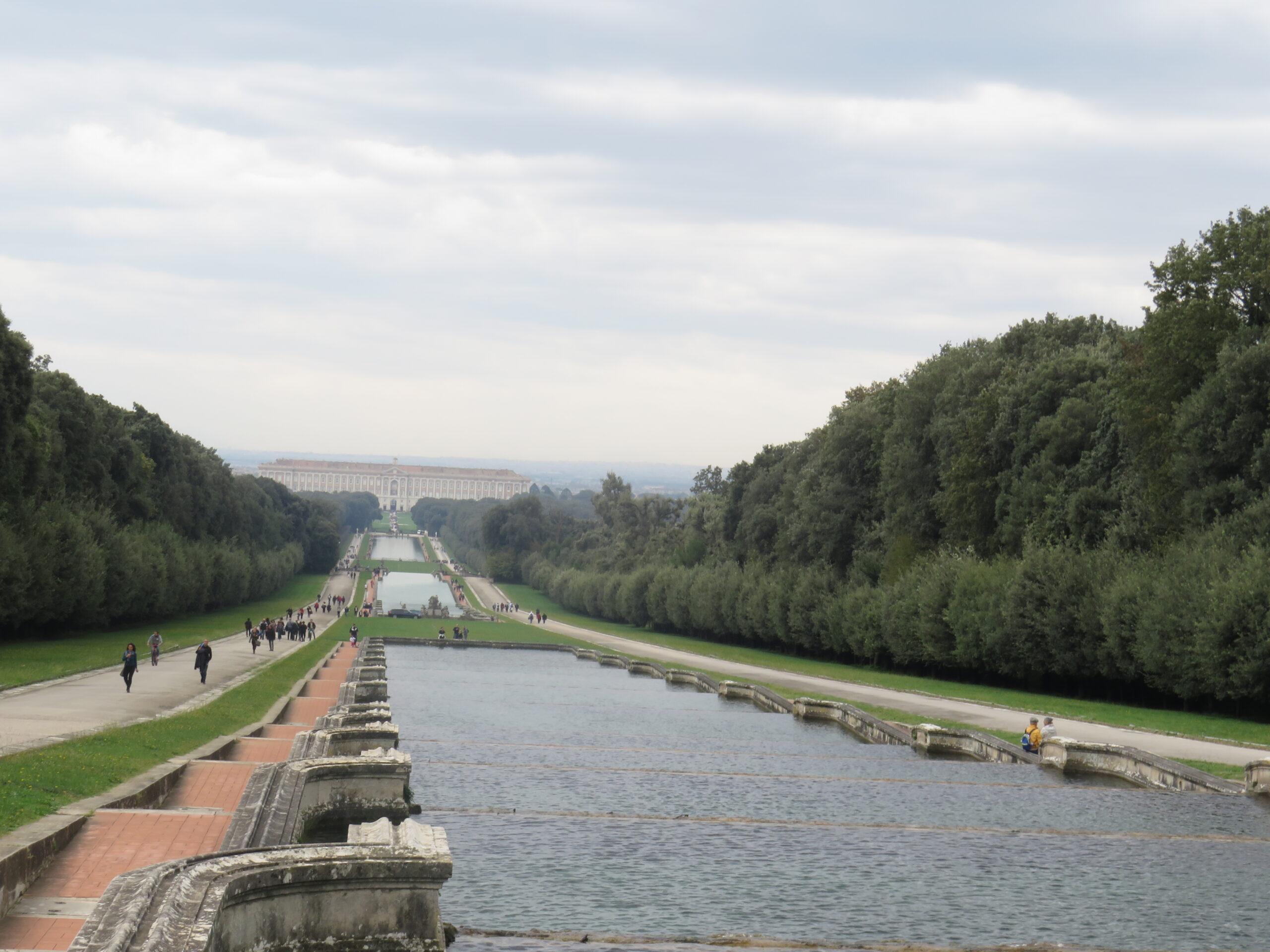 Vasche, fontane e viali Parco Reggia di Caserta